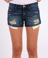 Henry & Belle Misha Distressed Denim Cut-Off Shorts