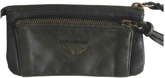 Zadig & Voltaire Green Leather Wallets