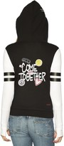 Peace Love World Come Together Collegiate Hoodie