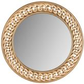 Safavieh Braided Chain 24 in. H x 24 in. W Round Framed Mirror