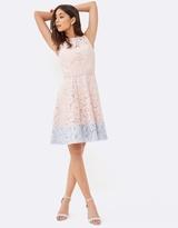 Little Mistress Pink Mini Dress