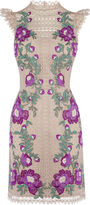 Karen Millen Floral Embroidered Mini Dress