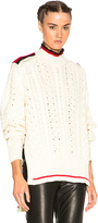 Isabel Marant Edison Sporty Twisted Sweater