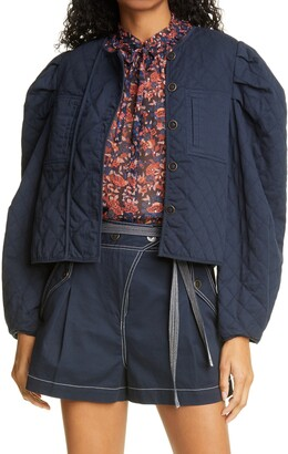 Ulla Johnson Arlo Quilted Jacket