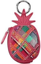 Vera Bradley Pineapple Bag Charm Wallet