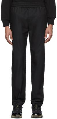 Rochambeau Black Formal Jogger Trousers