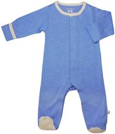 Baby Soy Footie (Baby) - Lake Blue-6-12 Months
