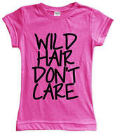 Urban Smalls Fuchsia 'Wild Hair Don't Care' Fitted Tee - Toddler & Girls