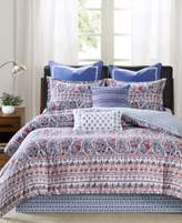 Echo Woodstock Floral Paisley-Print King Reversible Comforter Set