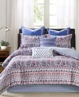 Echo Woodstock Floral Paisley-Print Queen Reversible Comforter Set