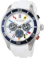 Nautica Men's NAD16536G NST 12 FLAGS Analog Display Quartz Watch