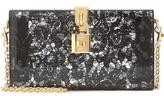 Dolce & Gabbana Dolce Box Embellished Box Clutch
