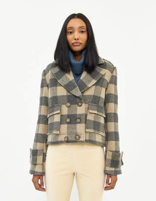 Farrow Sabine Check Coat