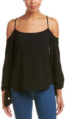 BCBGMAXAZRIA Nicholette Cold-Shoulder Top