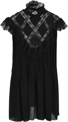 Philosophy di Lorenzo Serafini Philosophy Lace Panelled Shift Dress