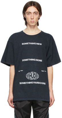 Rhude Black Something More T-Shirt