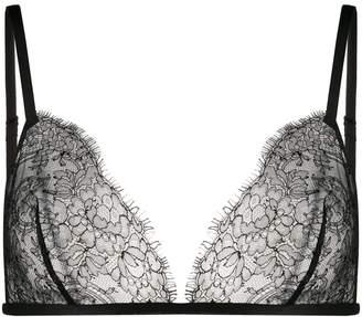 Carine Gilson lace soft triangle bra