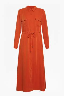 French Connection Midi Shirt Dress