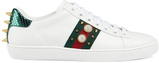 Gucci Ace studded sneakers