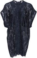 Tome Scallop Lace Oversized Sleeveless Shirt