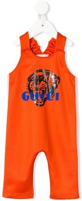 Gucci Kids Logo Jumpsuit