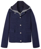 Tory Burch Cotton Hooded Jacket