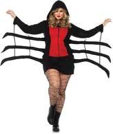 Leg Avenue Women's Plus Size Black Widow Cozy