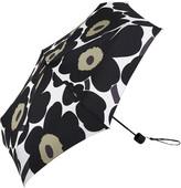 Marimekko Pieni Unikko Mini Manual Umbrella - White/Black/Green