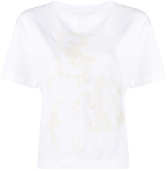 See by Chloe short-sleeved cotton T-shirt