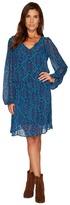 Stetson 1309 Chiffon Print Dress Women's Dress