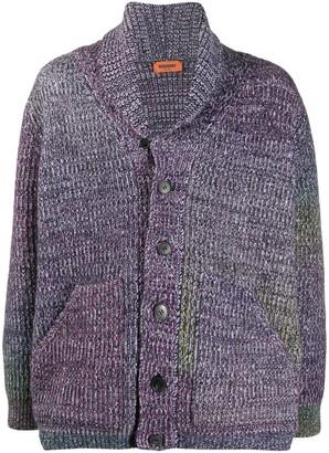 Missoni Mottled Wool Knit Cardigan