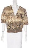 Gianfranco Ferre Python Short Sleeve Jacket
