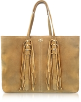 Zadig & Voltaire Mick Suede Fringed Tote Bag