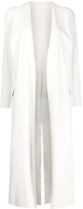 Salvatore Santoro Open-Front Long Coat