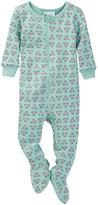 Tea Collection Cancion de Cuna Footed Pajamas (Baby Girls)