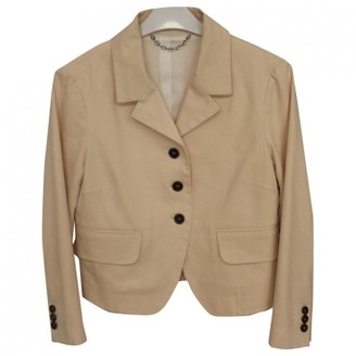 Celine Beige Cotton Jackets