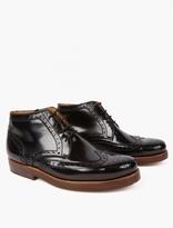Junya Watanabe Patent Leather Mottled Heinrich Dindelacker Boots