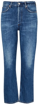 Citizens of Humanity Charlotte Straight-leg Cropped Jeans