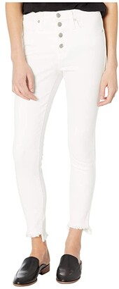 Madewell 10 High-Rise Skinny Jeans in Pure White (Pure White) Women's Shorts