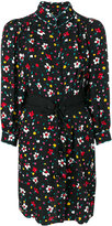 Marc Jacobs floral print shirt dress - women - Silk - 4