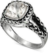 Giani Bernini Cubic Zirconia Braided Look Ring in Sterling Silver, Created for Macy's