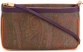 Etro contrast profiles shoulder bag