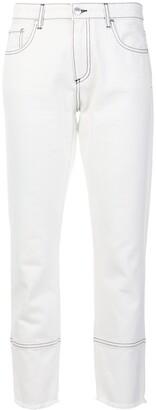 MSGM slim-leg cropped jeans