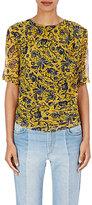 Etoile Isabel Marant Women's Bergen Floral-Print Silk Top