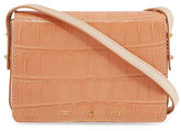 VBH Pulcecocco Millennium Crocodile Shoulder Bag, Salmon