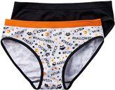 Maidenform Girls 2-pk. Halloween Print Hipster Panties