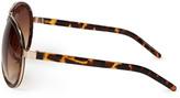 Forever 21 F4810 Tortoise Aviator Sunglasses
