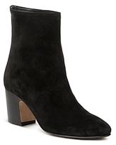 Vince Women's Dryden Suede High Block Heel Booties