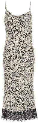 Rebecca Vallance Anya crepe slip dress
