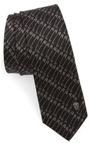 Alexander McQueen Men's Cr Punk Silk Tie